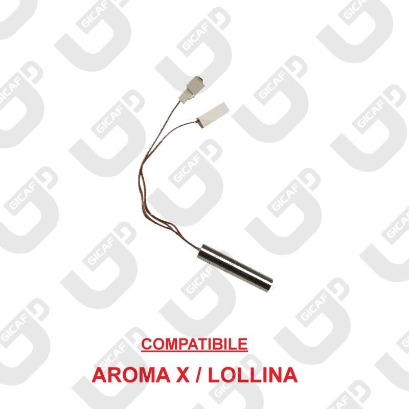 Resistenza a cartuccia 400W Lollina \ X  -Aroma