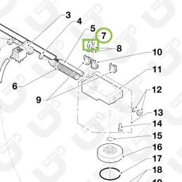 Bullone inox 4x10mm - Grimac
