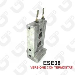 Termoblocco ESE38 + resistenza - Didiesse