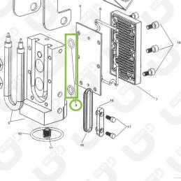 Guarnizione termoblocco/piastra o siluro (x4) - Didiesse
