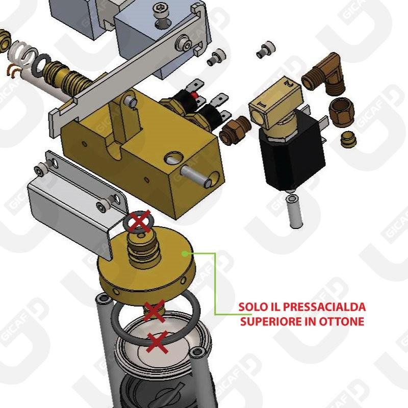 Pressacialda superiore Ciao - Spinel