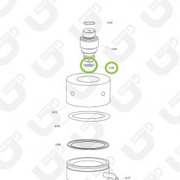 Guarnizione clicler inferiore - Spinel