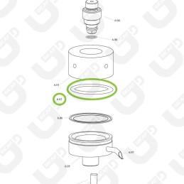 Guarnizione cialda (x10) - Spinel