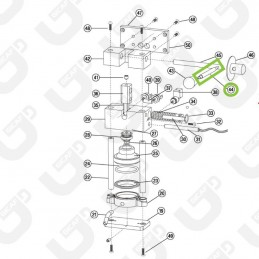 Leva gruppo M8_M8 - Faber Slot / GeaBar