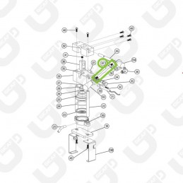 Leva gruppo M8_M6 - Faber MiniSlot /Fabila