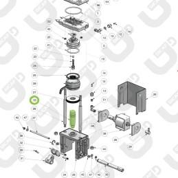 Albero alzata alluminio - RDL MINI \ MAXI