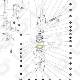 Guarnizione labbro compensatore - QI TUBE / PALLINA