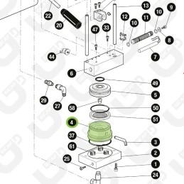 Portacialda compensatore - QI TUBE / PALLINA