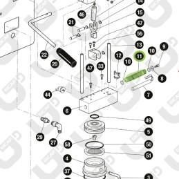 Siluro in alluminio trattato - QI TUBE