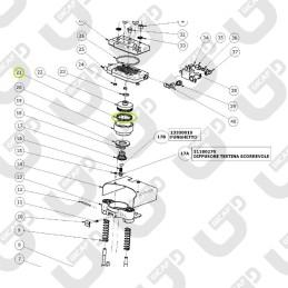 Guarnizione tenuta pistone capsule - RDL MINI / MAXI